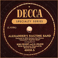 Decca Specialty Series 40038 A