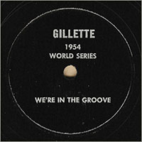 Gillette 1954 World Series